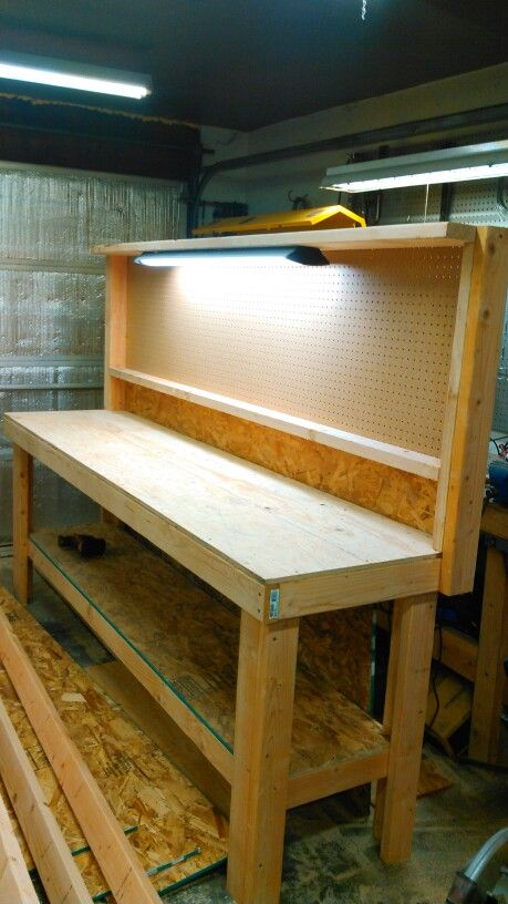 Custom Workbench Workbench Designs Workbench Plans Diy Garage