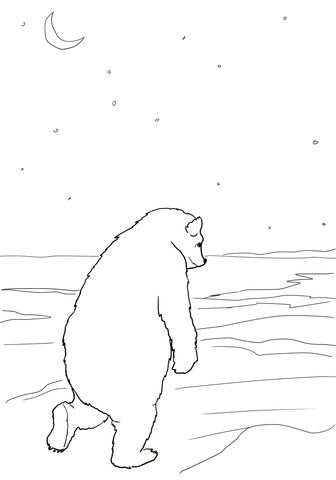 Bear Returns To His Cave Coloring Page From We Re Going On A Bear Hunt Category Select Fr Free Printable Coloring Pages Coloring Pages Free Printable Coloring
