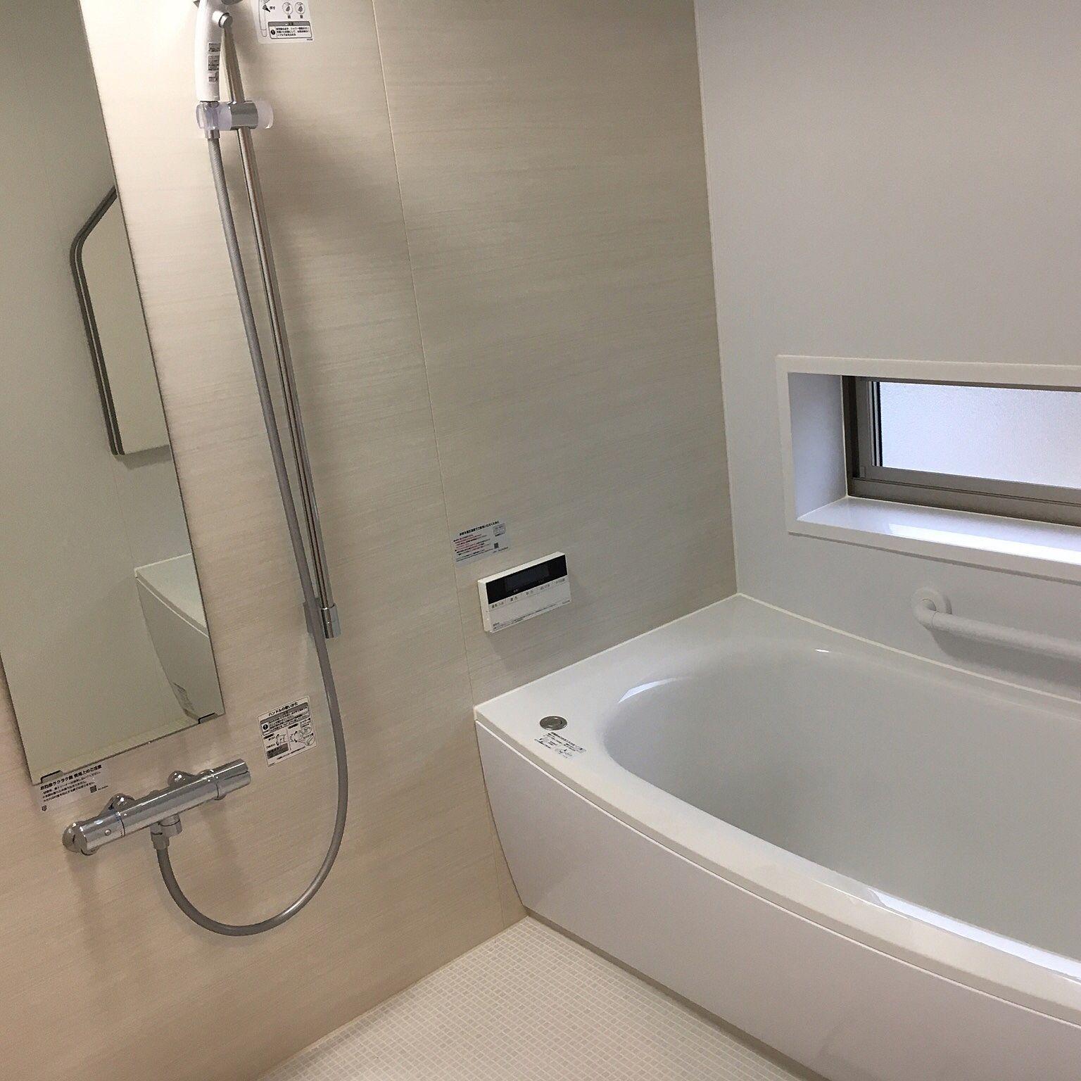バス トイレ カウンターなし Totoサザナ 棚なし Toto などのインテリア実例 2017 06 09 19 39 01 Roomclip ルームクリップ 浴室 Toto 浴室 デザイン 浴室 収納