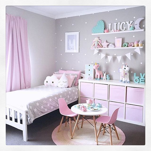 How lovely is the room that @my_home_14 has created for her - moderne kinderzimmergestaltung idee