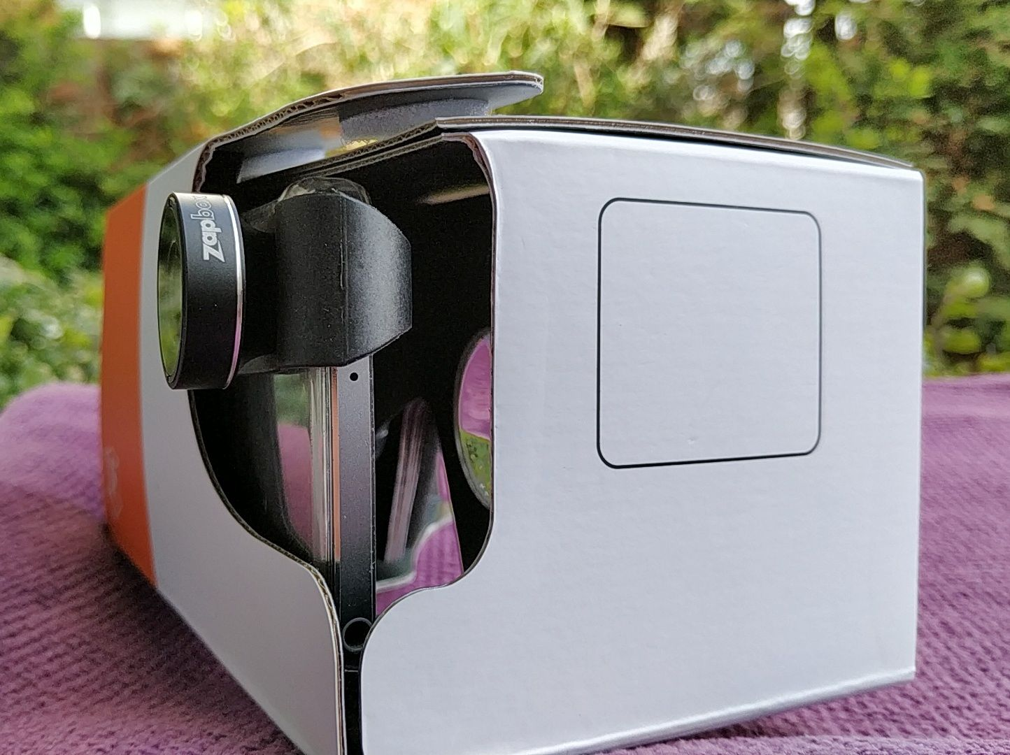 ZapBox 2.0 Mixed Reality Cardboard Headset With Clip On
