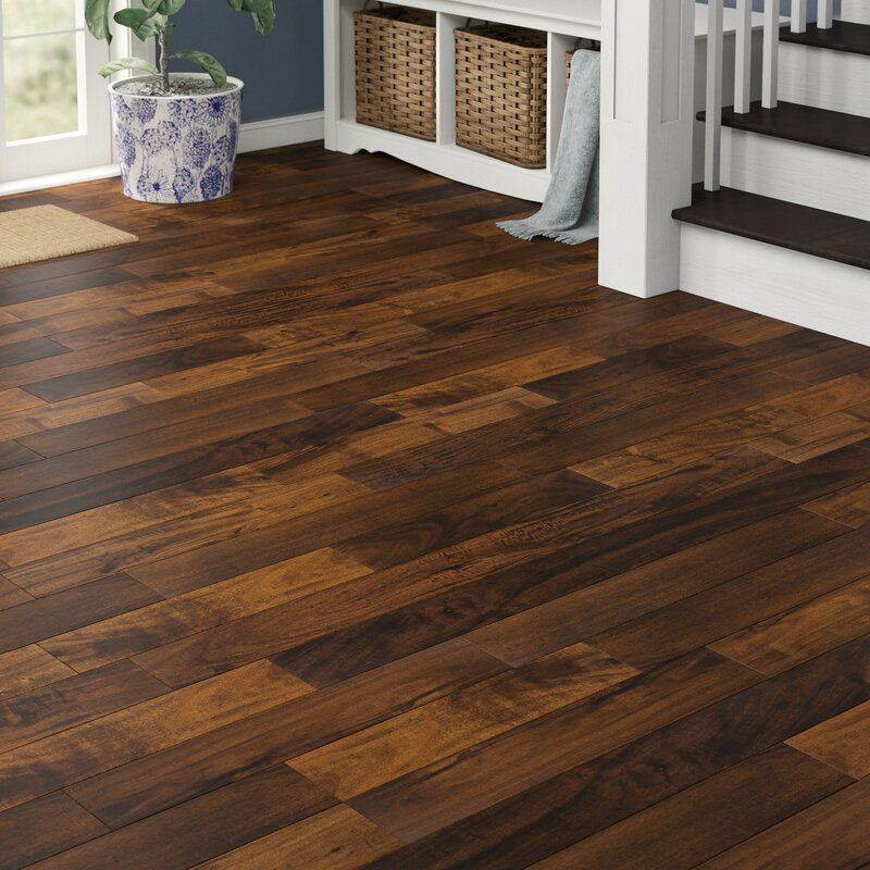 Acacia 1 2 Thick X 5 Wide X 47 Length Engineered Hardwood Flooring In 2020 Wood Floors Wide Plank Hardwood Engineered Hardwood Flooring