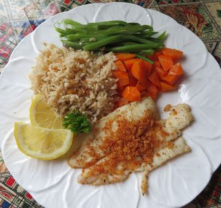 The English Kitchen: Fillet of Sole with Crispy Fresh Breadcrumbs #plainenglishkitchen