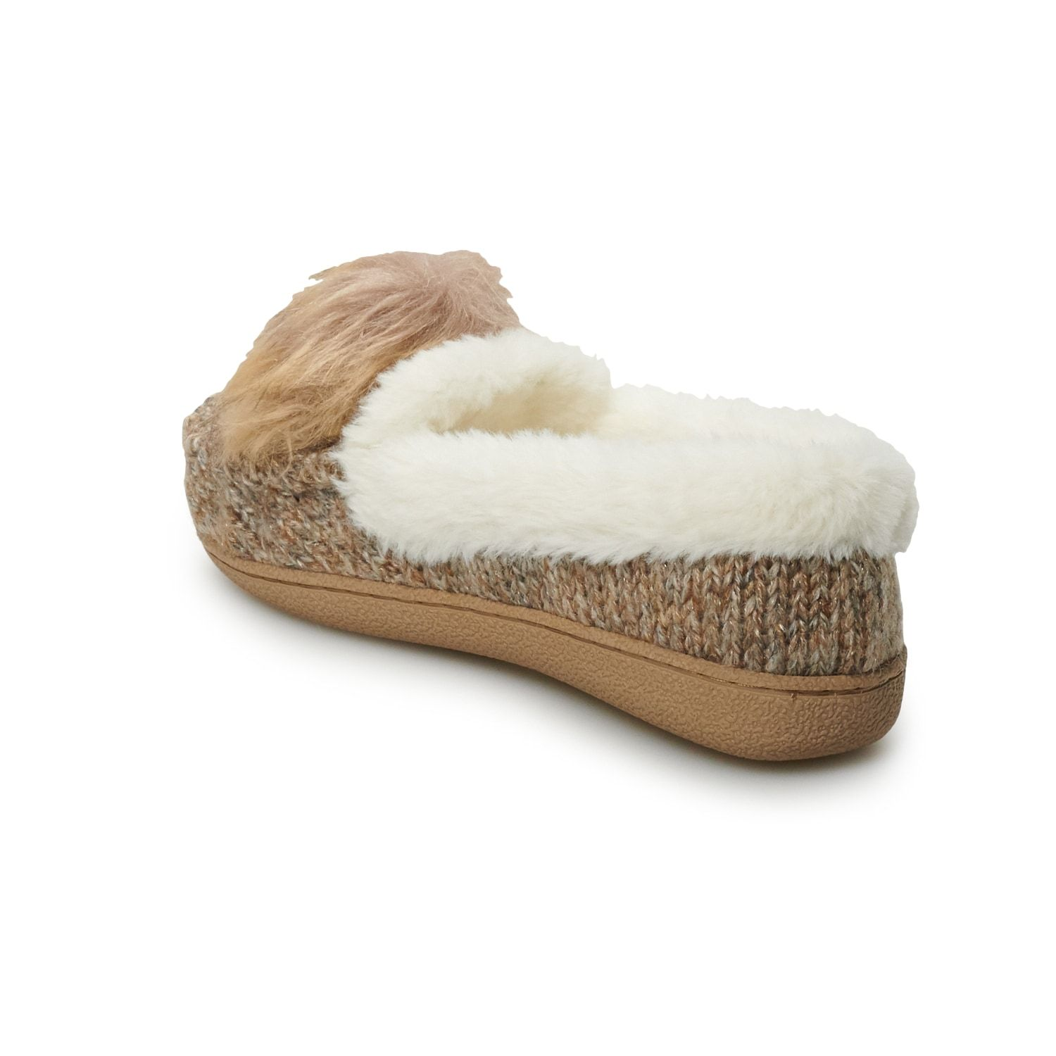 06682ea3ed26e Women's SONOMA Goods for Life Sweater Knit Moccasin Slippers ...