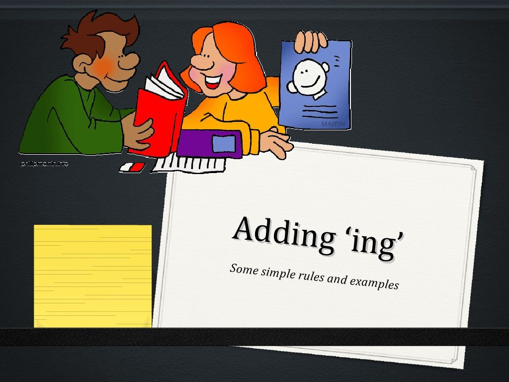 The Best Rules For Adding Ing To Base Words By