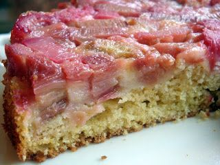 Yummy By Emmy Rhubarb Buttermilk Cake Rhubarb Recipes Buttermilk Recipes Rhubarb Dishes