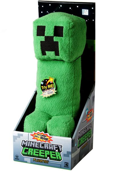 Minecraft creeper plush toy with sound minecraft creeper plush with sound voltagebd Image collections