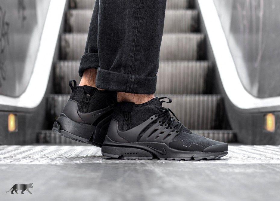 28d1194895ba Nike    Nike Air Presto Mid Utility (Black   Black - Dark Grey)