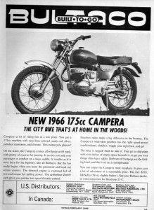 1966 Bultaco Campera 175 Motorcycle