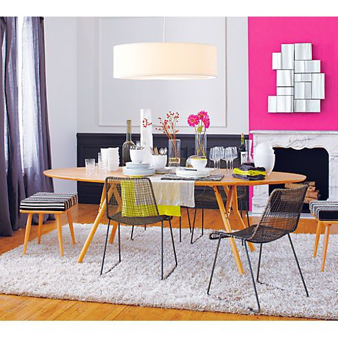Shanghai Dining Table In Dining Tables Cb2 With Images