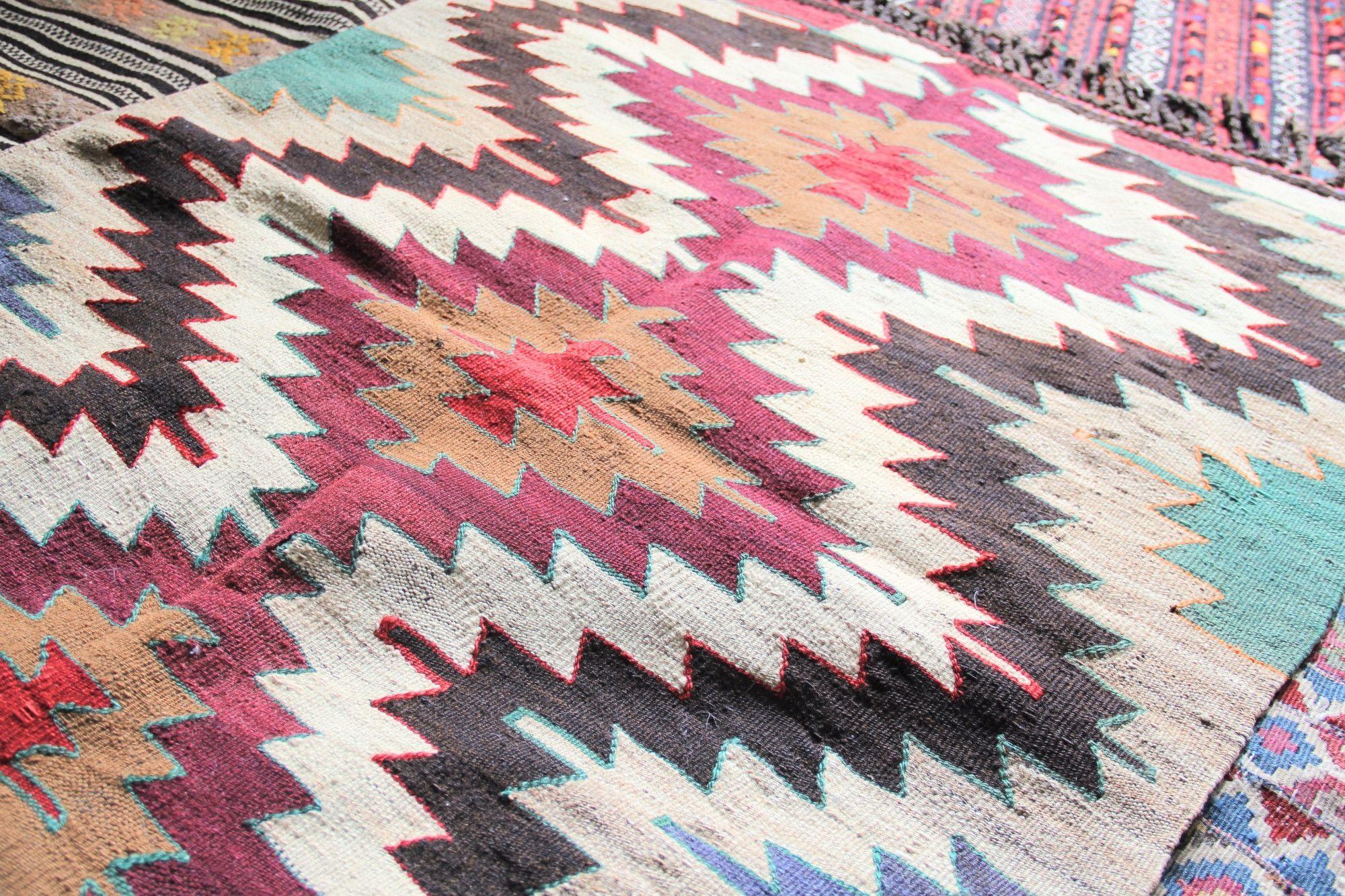 Mut Handmade Prayer Kilim Rug