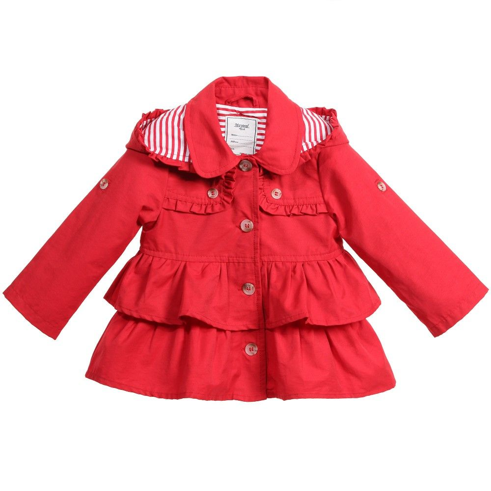 mayoral ss15 | girls coats | Pinterest | Coats, Red coats and The ...