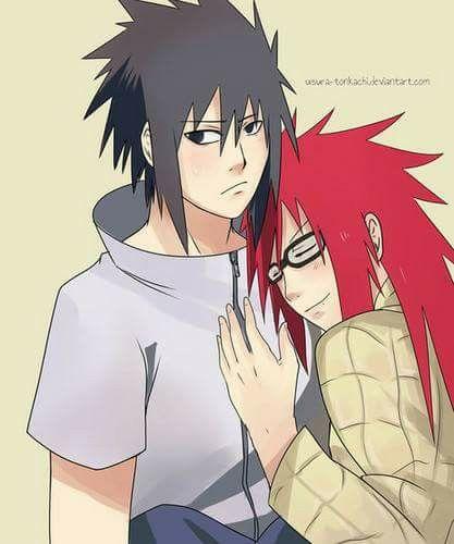 Sasuke Uchiha and Kari...
