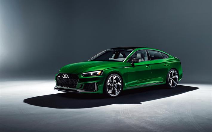 Audi Rs5 Sportback 4k 2019 Wallpapers: Download Wallpapers Audi RS5 Sportback, 4k, Studio, 2019