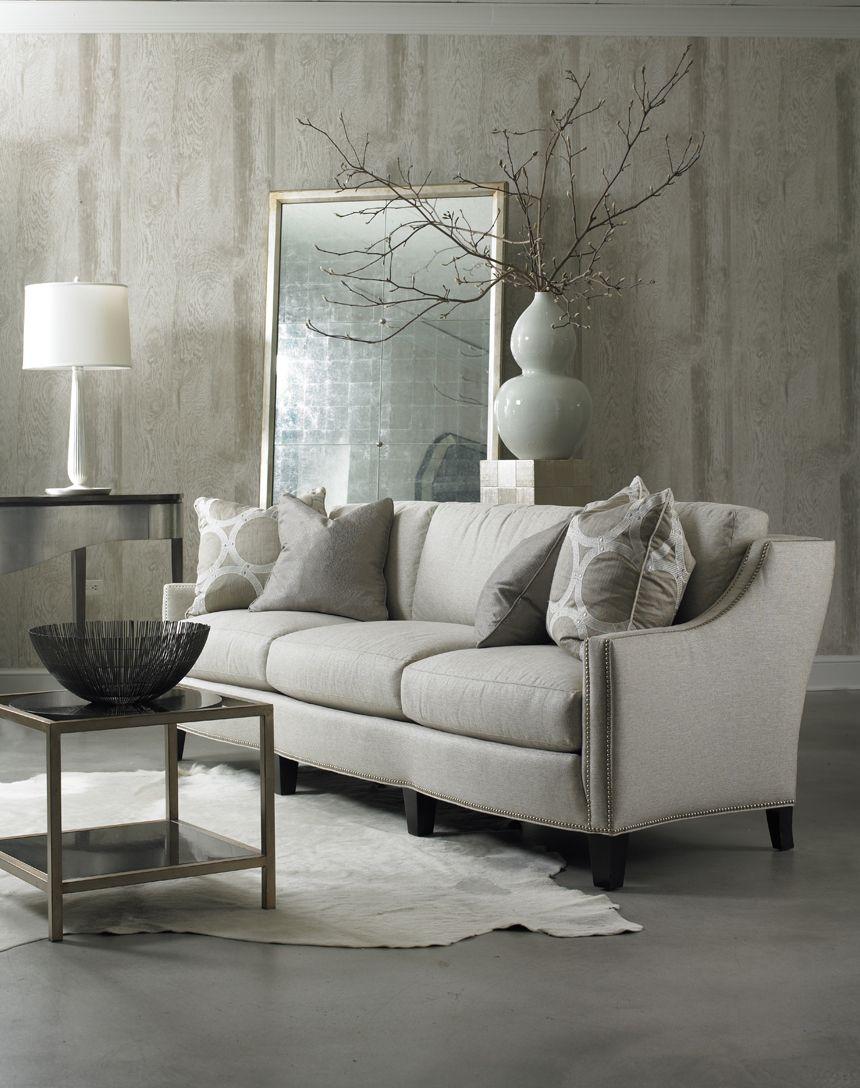 Merveilleux Hickory White   5401 05 Sofa