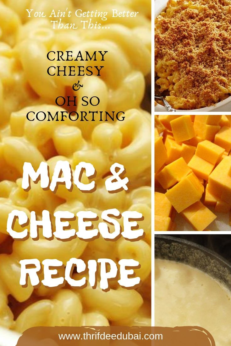 Quick Fix Baked Macaroni Cheese There is a million & one Mac & Cheese recipes online but you ain't getting better than this!! This is creamy cheesy & oh so comforting quick fix recipe! Perfect for those Autumn evenings!  . . . .
