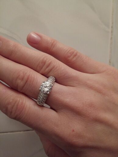 Engajamento Anéis de Casamento CZ Diamante 18 K Rose Banhado A Ouro Marca de Moda Jóias Anel de Strass Para As Mulheres anel Atacado DFR105 Loja Online   aliexpress móvel
