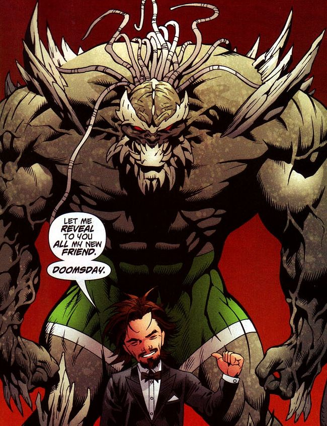 doomsday comics | Doomsday as he appeared in the Death of Superman ...