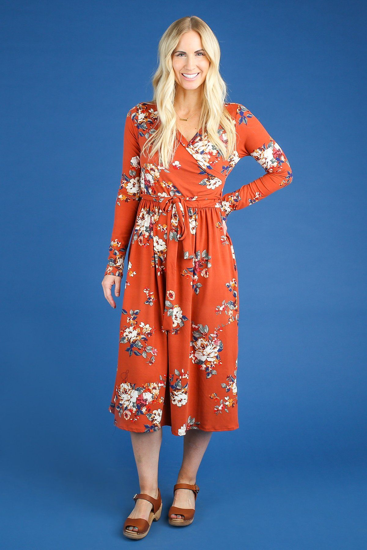 Nor Wrap Top Dress With Images