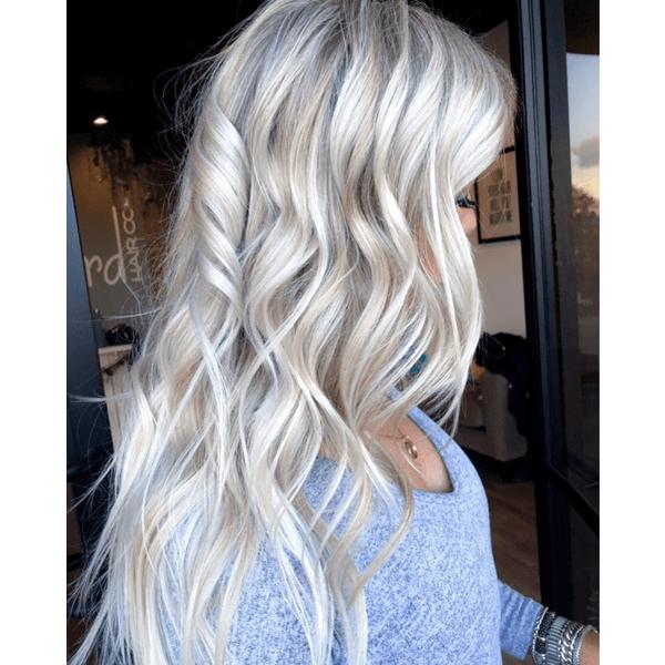 Winter Whites Winter Blonde Hair Grey White Hair Cool Blonde Hair