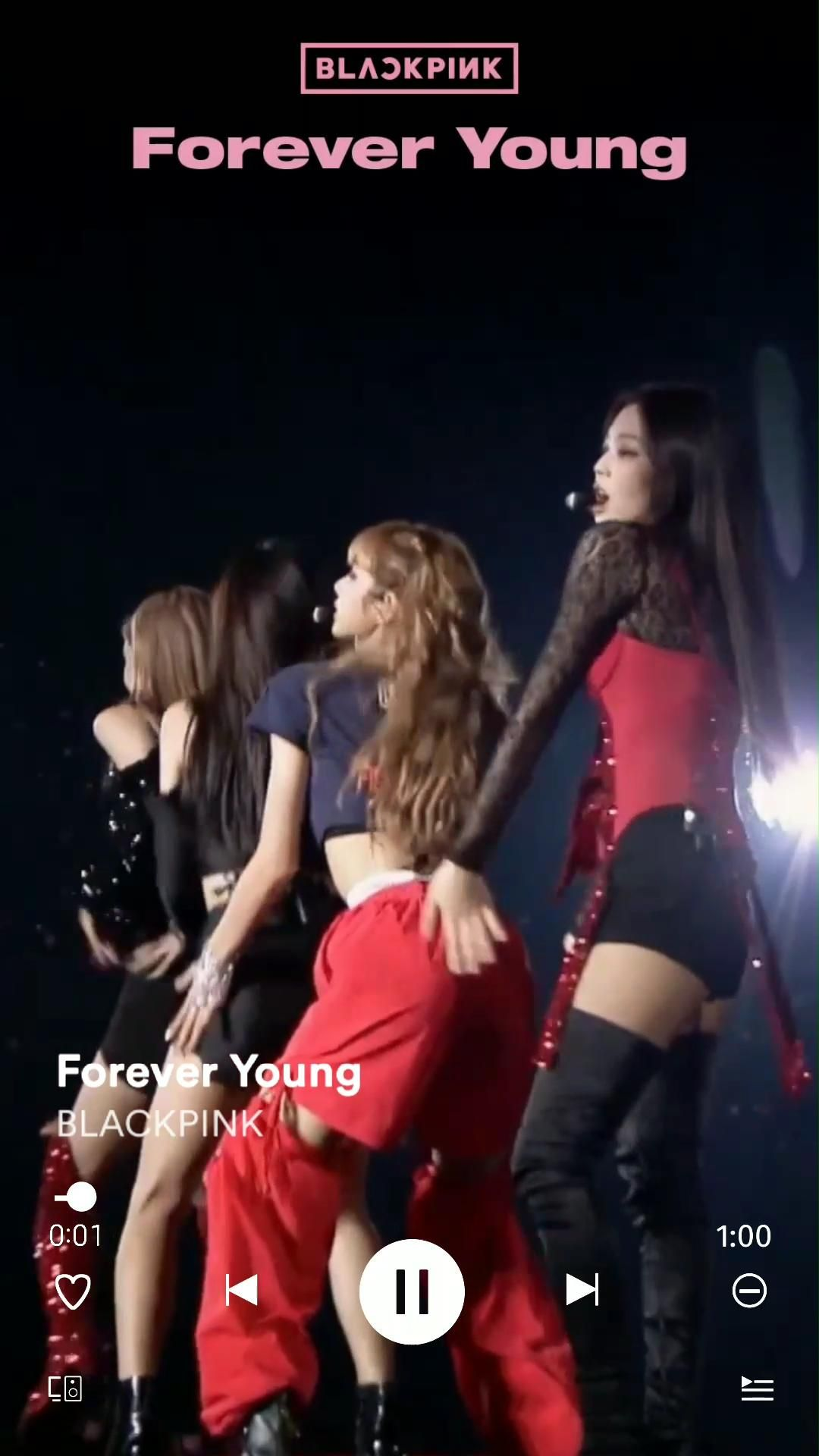 Blackpink - Forever Young (Chorus Part #2)