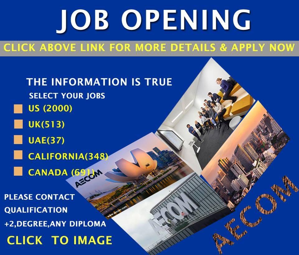 Aecom Hiring Now Accommodation Free Visa Ticket Benefits Click Here To Apply Technology Job Hiring Now Job