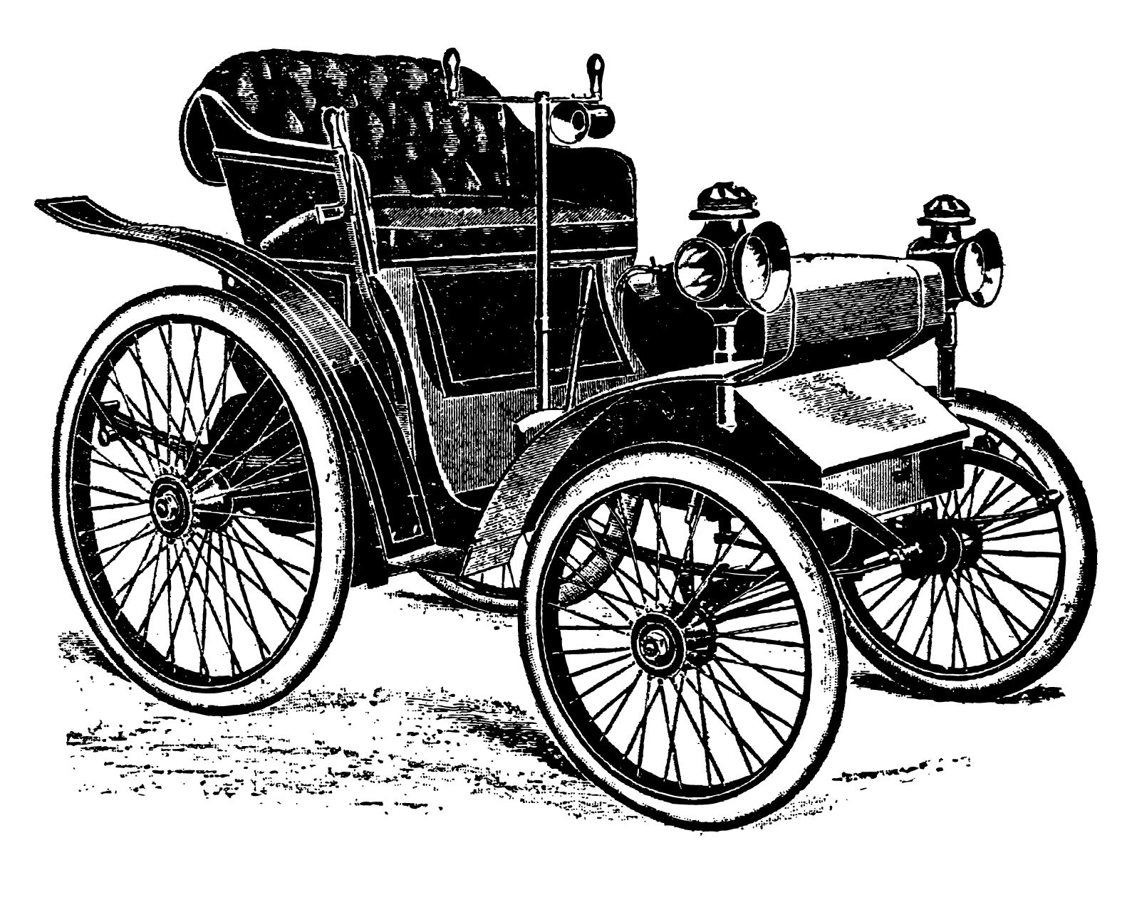 Vintage Cars And Coaches Clip Art With Images Clip Art Vintage