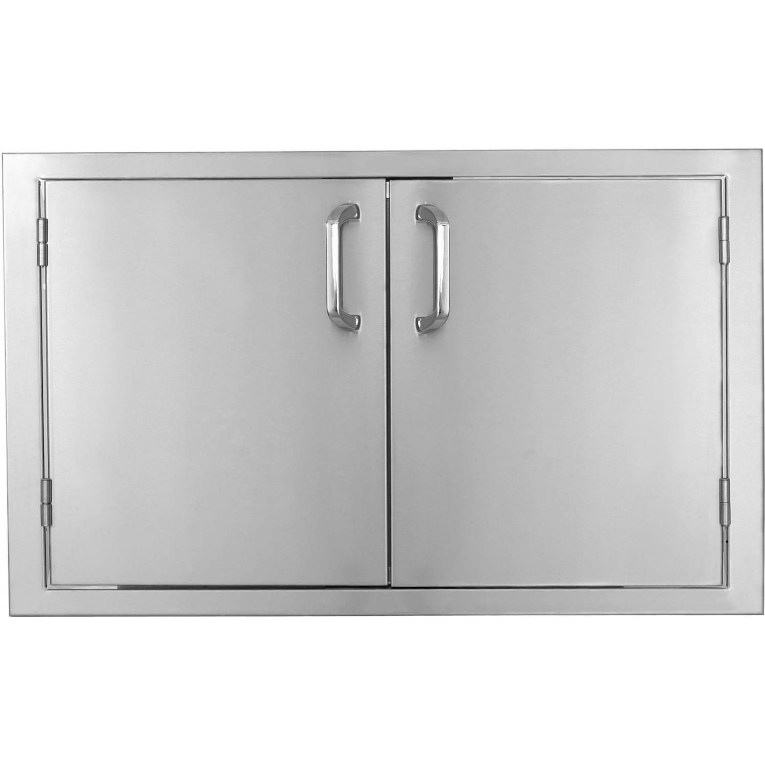 BBQGuys.com Kingston Series 36-Inch Stainless Steel Double Access Door available at BBQ