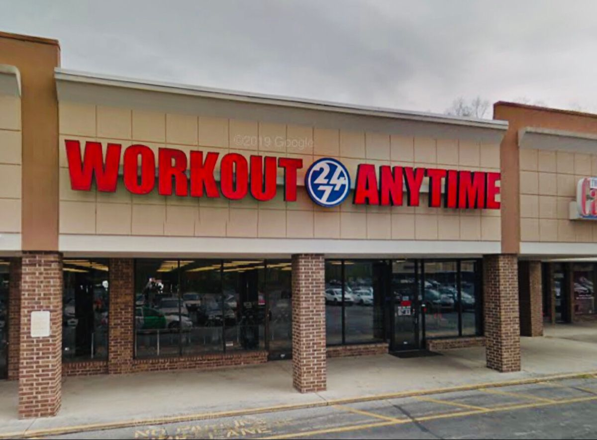 Powell Tennessee Anytime Fitness Gym Franchise Gym Workouts