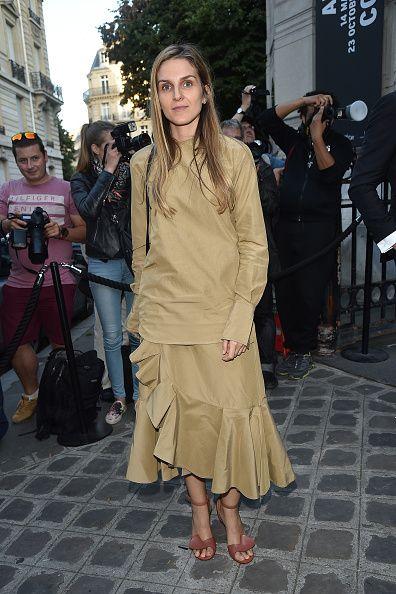 Gaia Repossi wearing celine