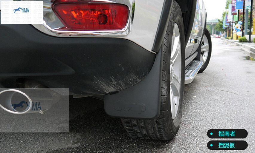 Tires & Wheels Mudguards 4Pcs/Set car Front Rear Mud Guards Splash Flaps Fender Mudguards for Jeep Wrangler 2008 2009 2010 2012 2013 2014 2015 2016 2017
