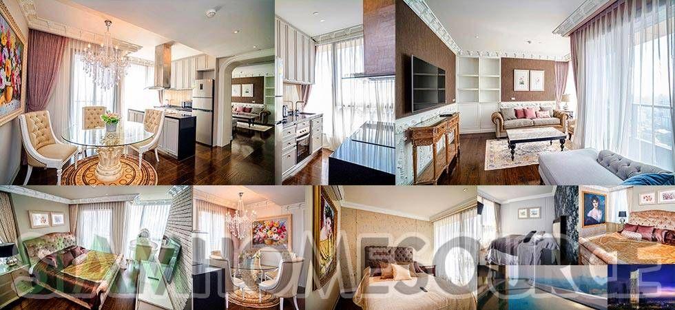Cozy & Modern Luxury 3BR Phrom Phong Penthouse Rent 138k ...