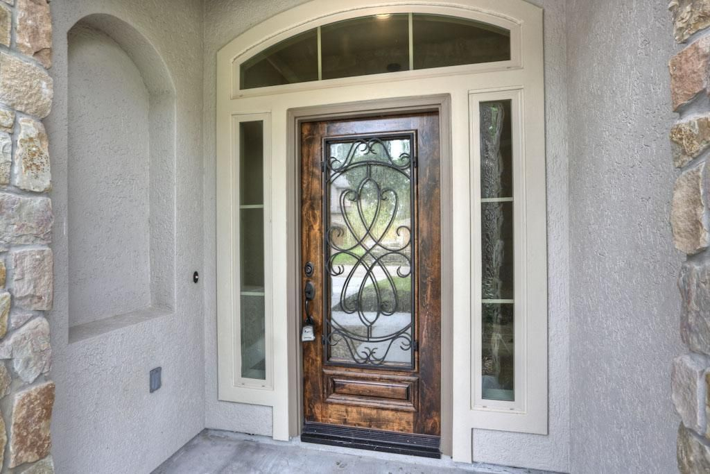 Example Photo Front Door The Front Porch Entry Will Offers An 8