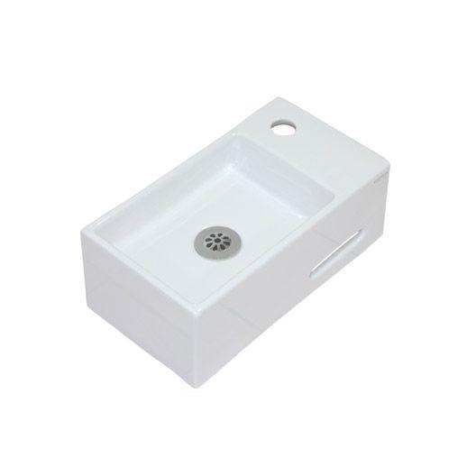 Lave Mains Opus Ceramique Blanc 39 X 21 Cm Lave Main Lave Ceramiques Blanches