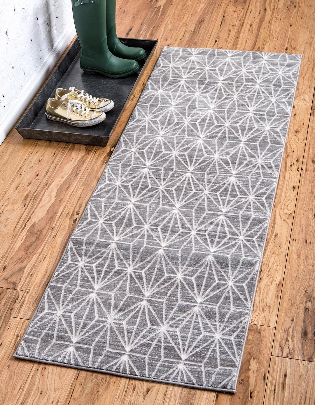 Gray Jill Zarin 2 2 X 6 Uptown Collection Runner Rug Area Rugs