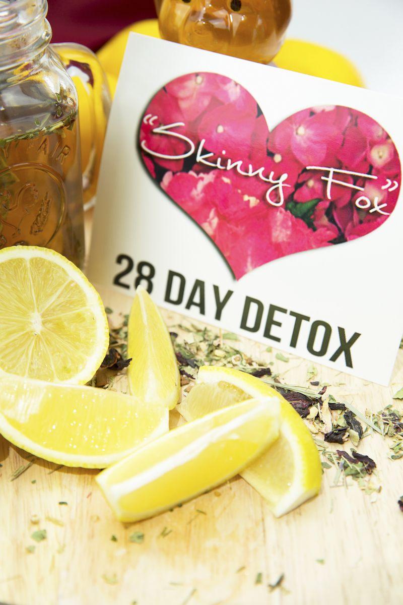 SkinnyFox Detox - 28 Days - Total Body Reboot