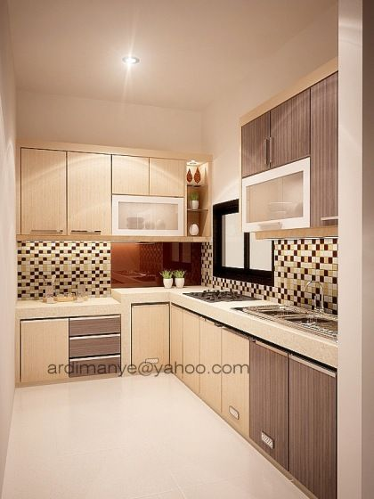 Dapur Basah Kitchen Kitchen Kitchen Design Modern Kitchen Cabinets