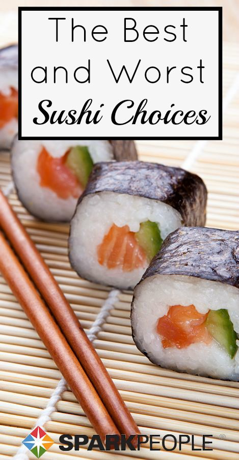 The Healthiest Sushi Rolls Healthy Sushi Healthy Sushi Rolls Healthy Recipes