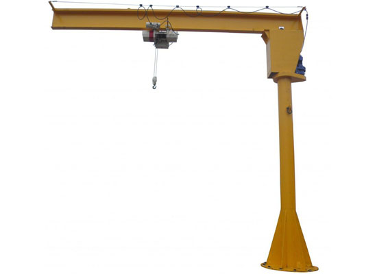 Pillar Mounted Jib Crane Stable Jib Crane High Safety Easy Use Hot Sale Pillars Cranes For Sale Crane