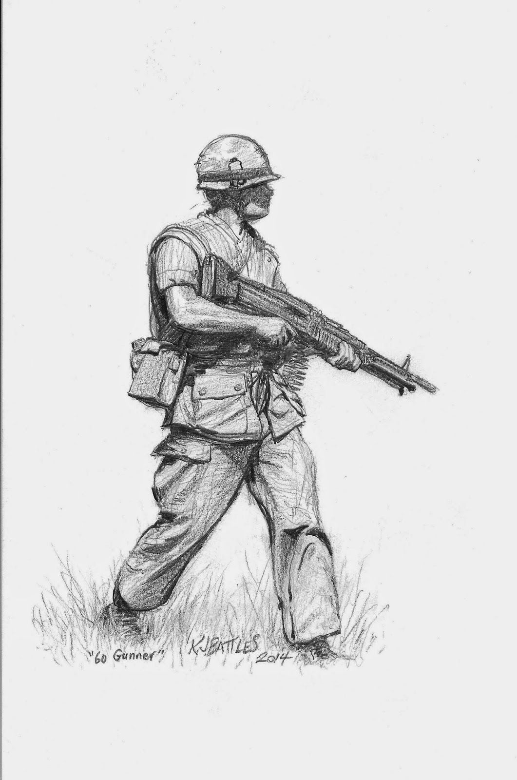 Image result for Vietnam Soldier Drawing   Toms Drawings ...