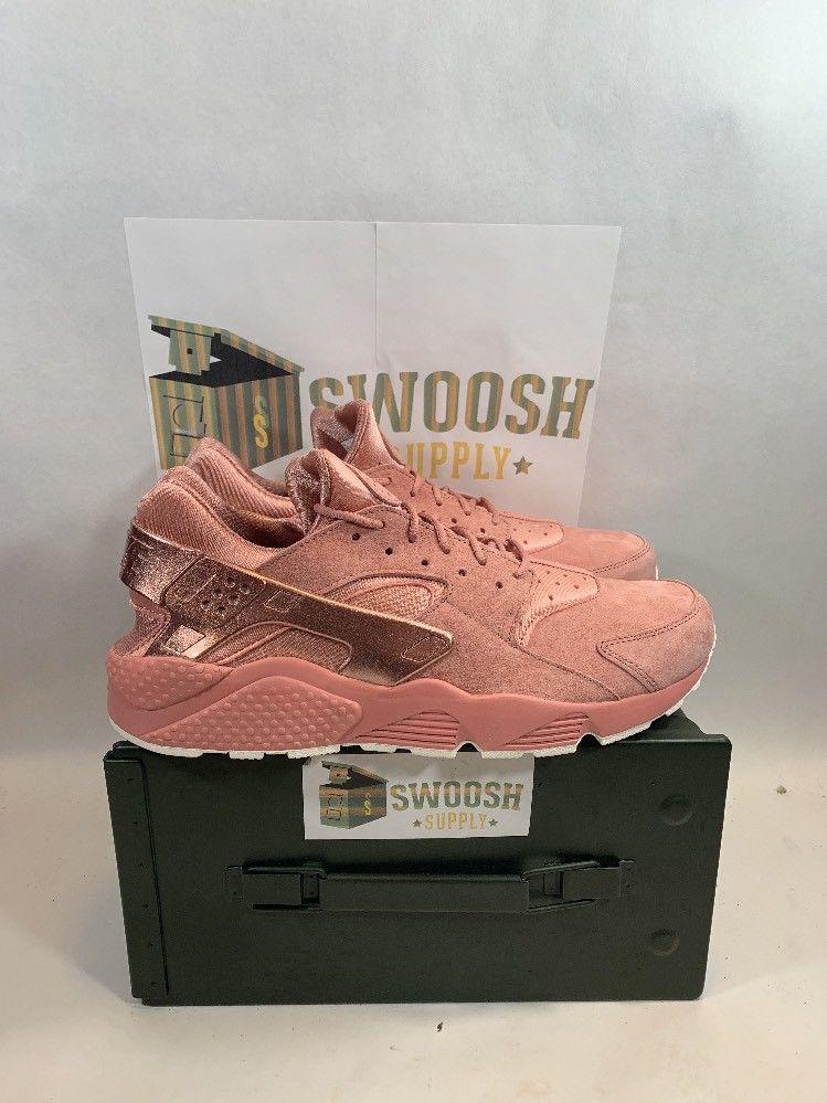 premium selection e71cf 5ed36 Nike Air Huarache Run Premium Rust Pink 704830 601 Men s Size 13  Nike   AthleticSneakers