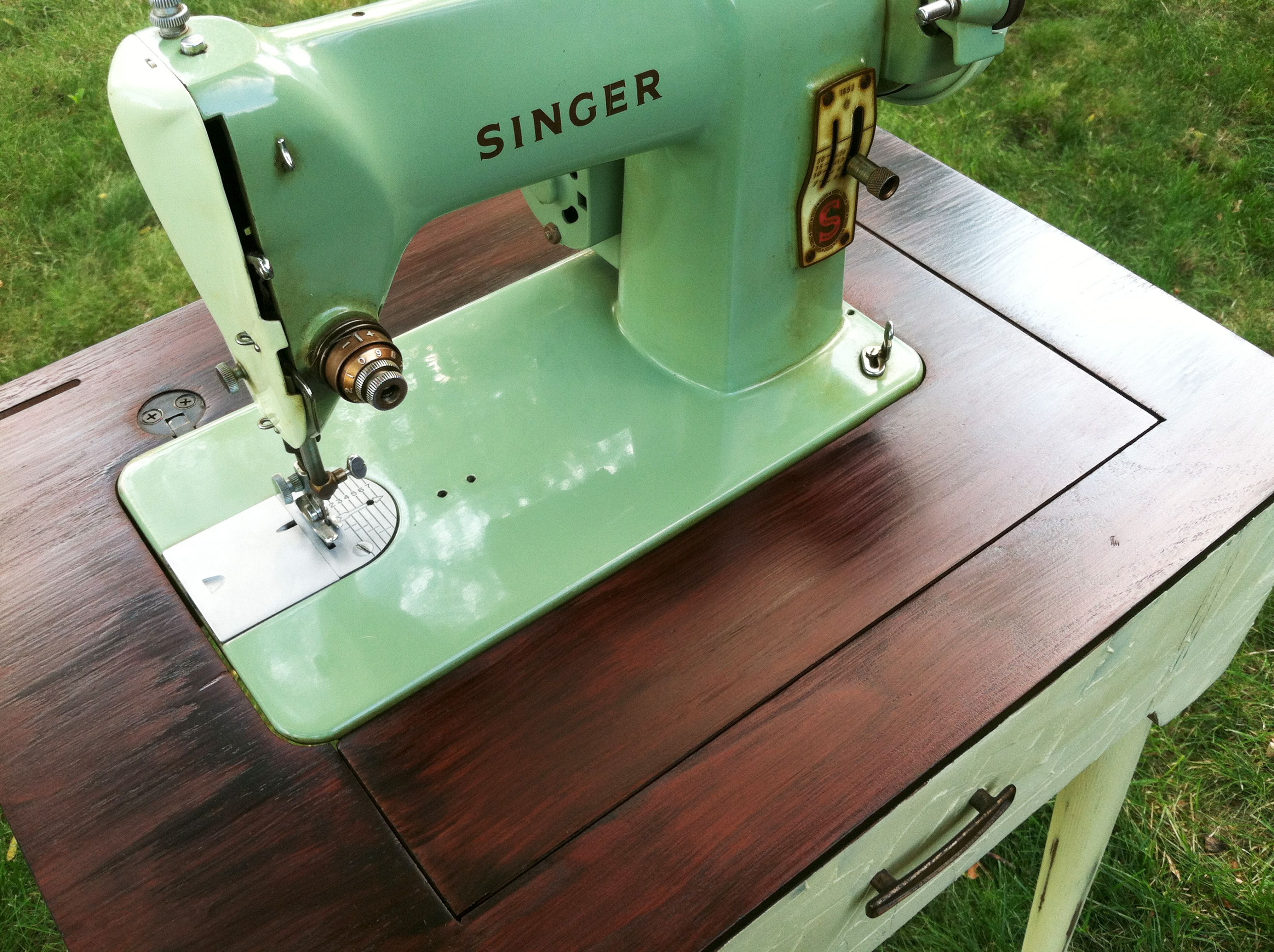 How To Upcycle A Vintage Sewing Machine Cabinet Quilt