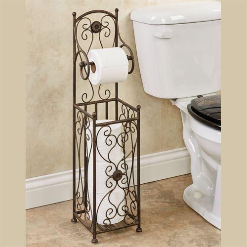 Kadalynn Antique Bronze Toilet Paper Holder Stand Toilet Paper Stand Toilet Paper Holder Stand Bronze Toilet Paper Holder