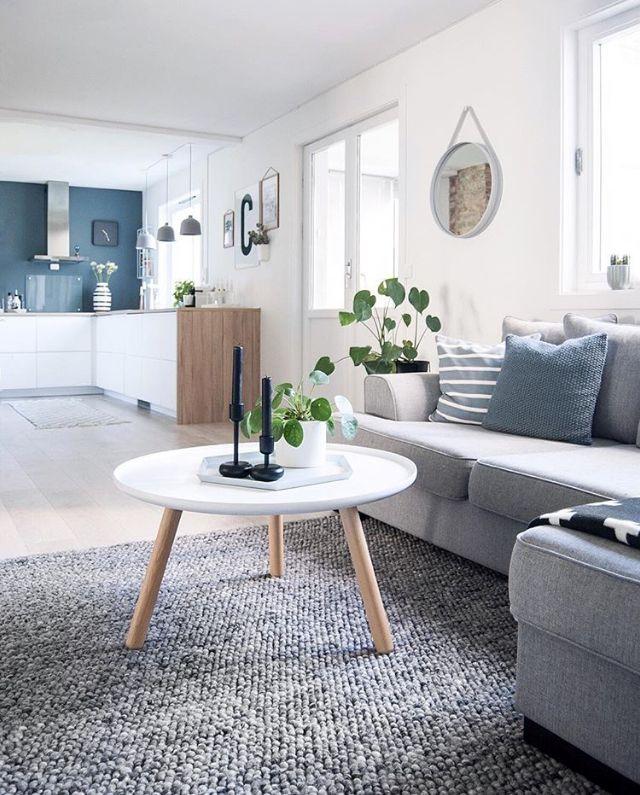 The beautiful living room of @enkontrast, Normann Copenhagen Tablo ...