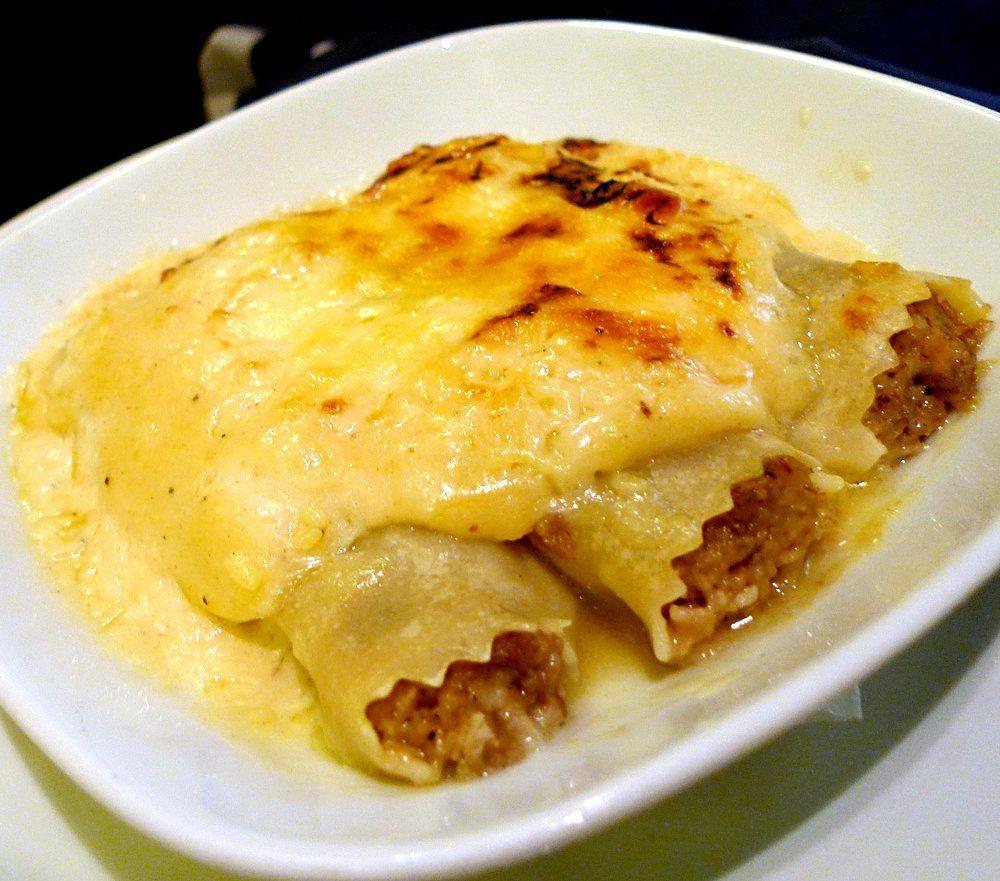 Canelones a la catalana catalu a spanish food - Cocina navidena espanola ...
