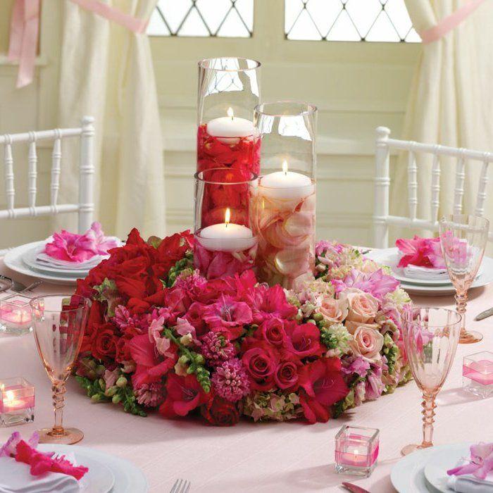 Romantisches Blumen Tischdeko Diy Selber Machen Diy Ideen Blumen