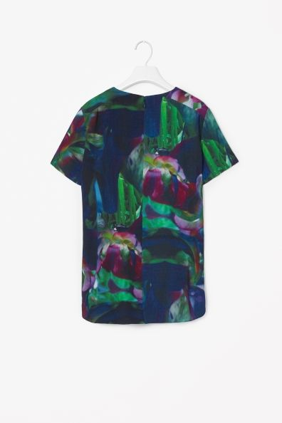 Cos graphic print top