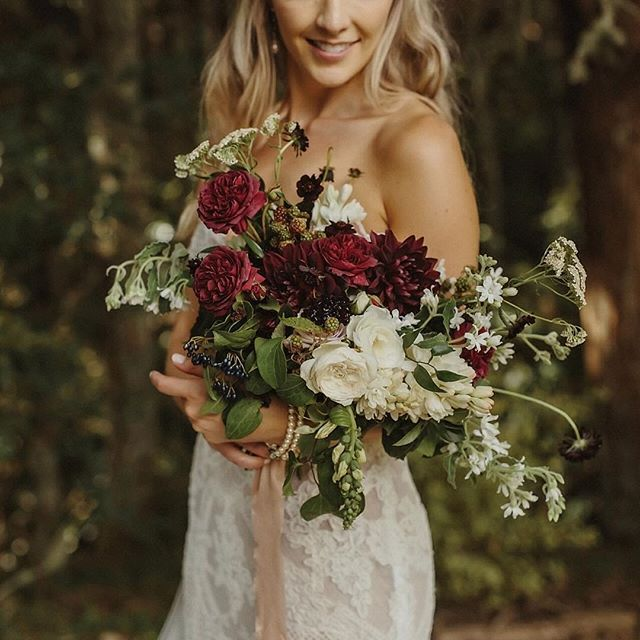Wild Flowers For Wedding: Wild Wedding Bouquet By Leaf And Honey, Image By Danelle