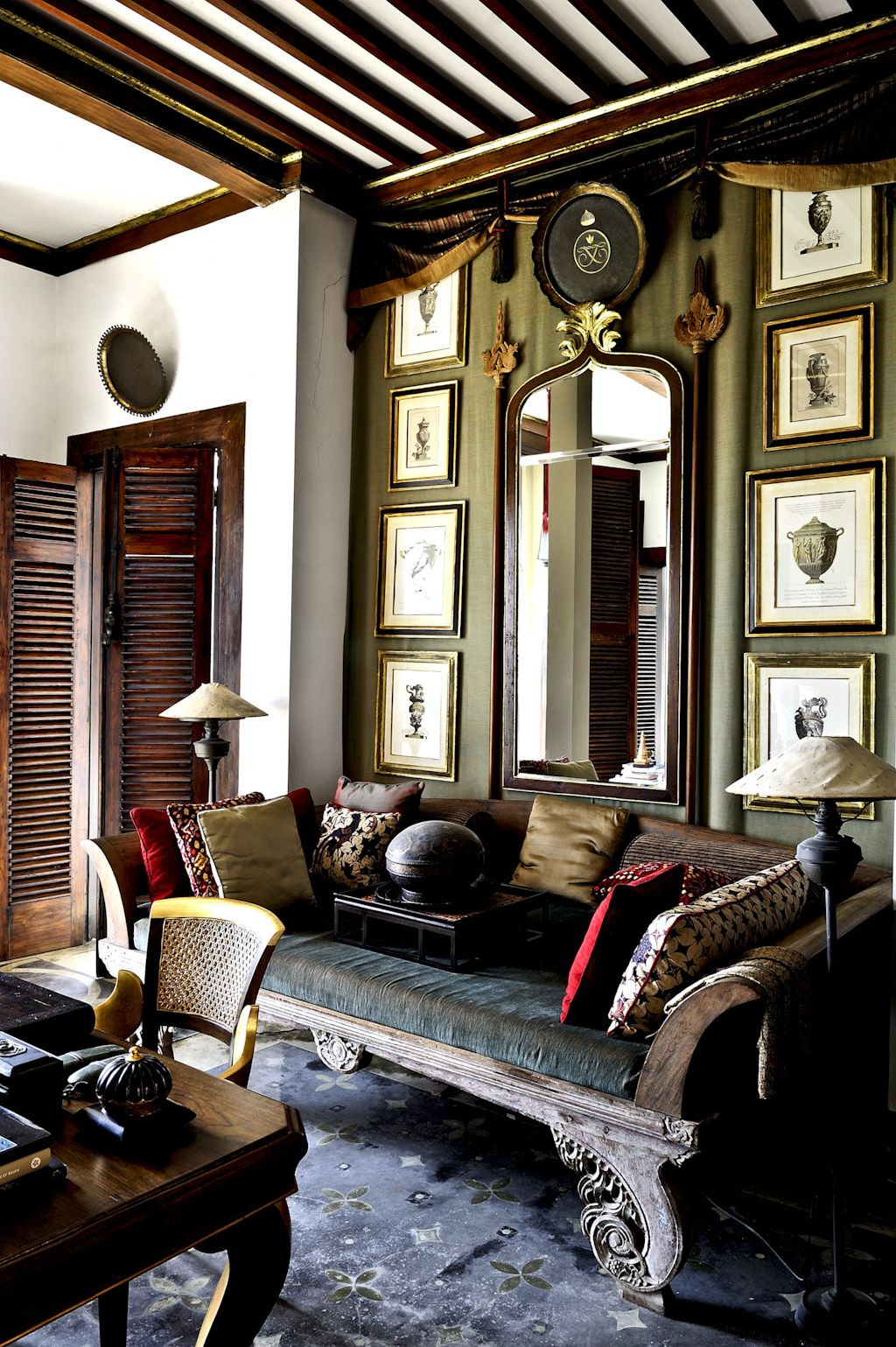 Living Room Designed By Jaya Ibrahim In Cipicong Java Indonesia Interior Arsitektur Kolonial Desain Rumah