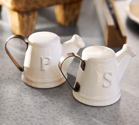 Watering Can Salt And Pepper Shakers From Pottery Barn